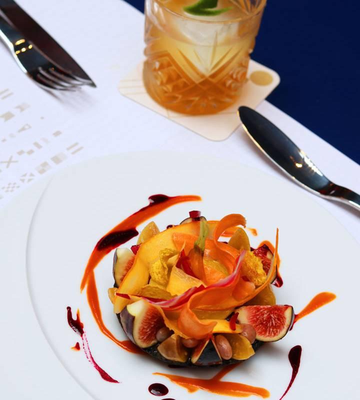 fruit tart restaurant port toulon