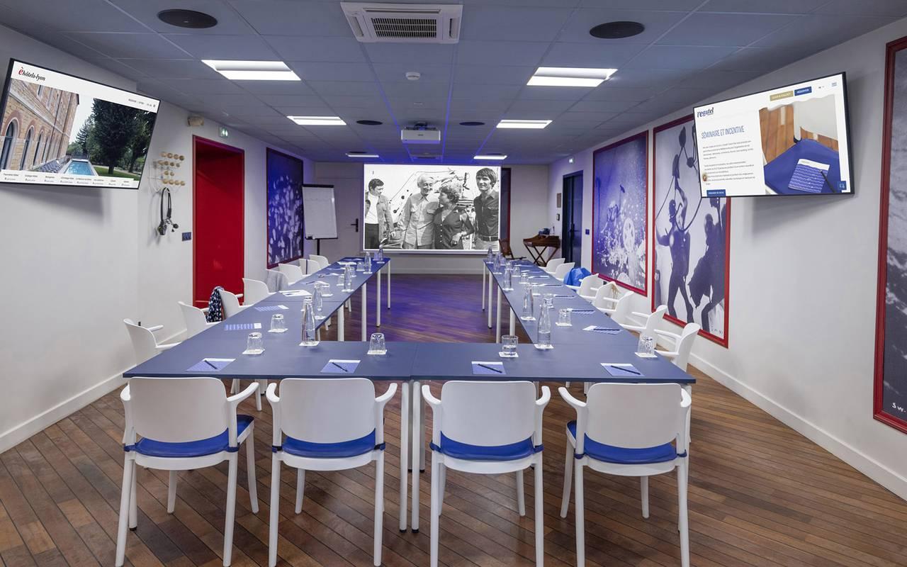 Spacious meeting room, meeting Toulon, l'Eautel